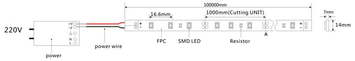 led灯带ld-600控制器电路图